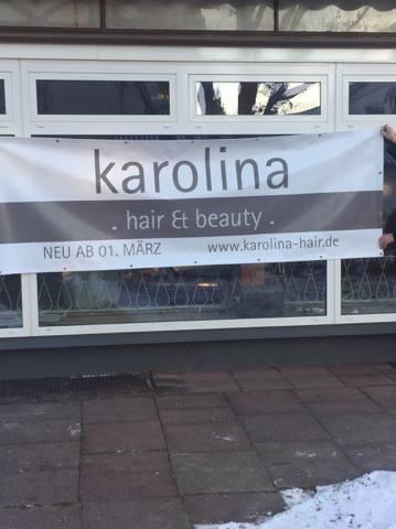 Außenansicht des Friseur-Salons